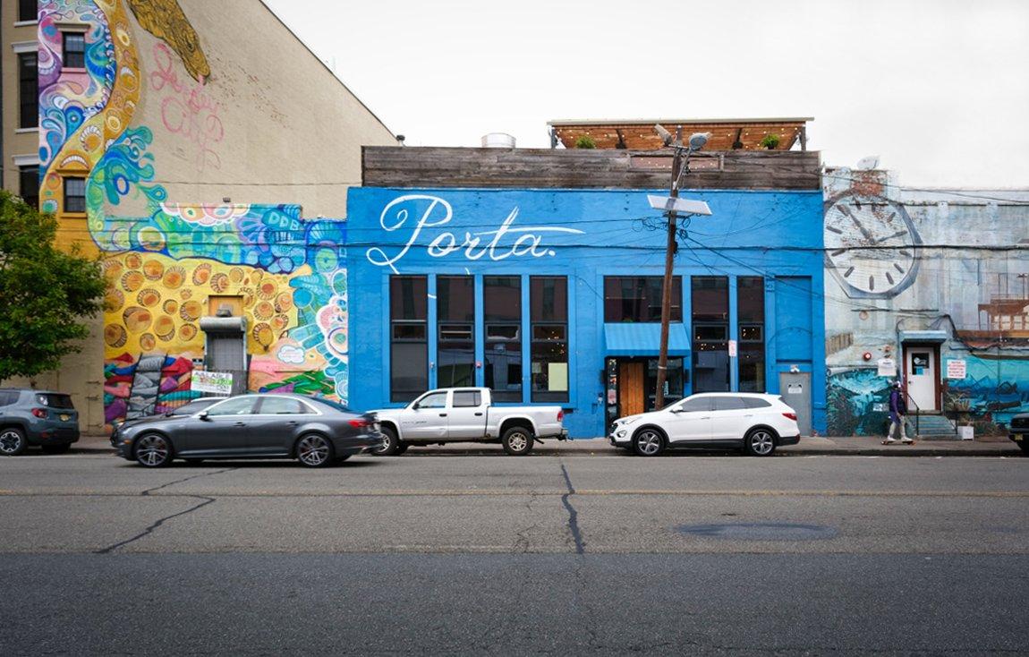 Jersey City Streetscape & Art Culture