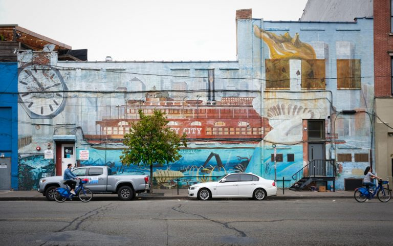 Jersey city and its Stunning Streetscape and Thriving Art Culture