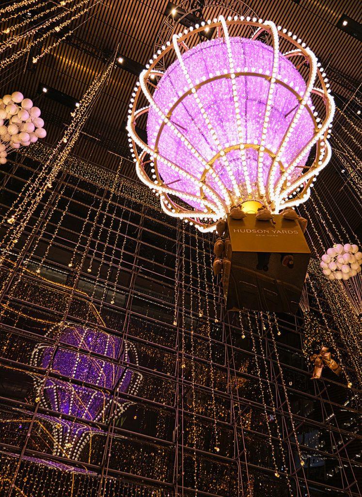 Holiday Lights NYC at Hudson Yards