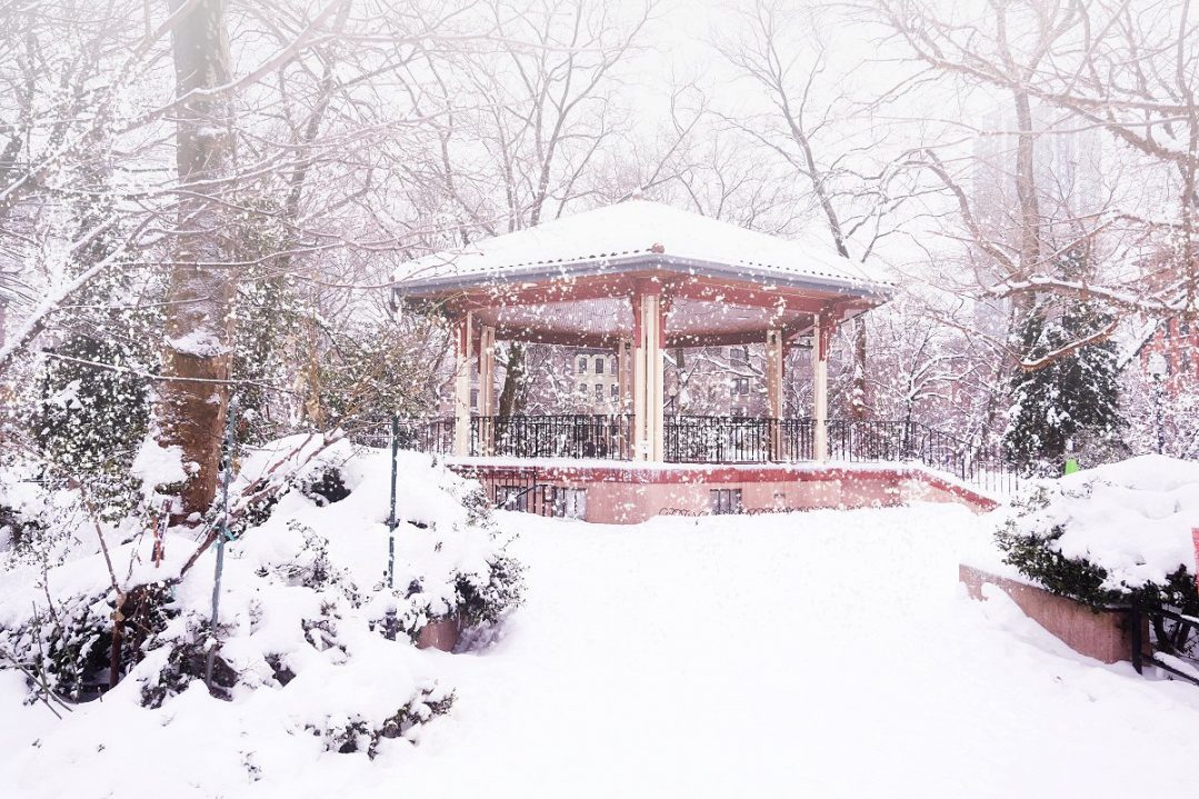 Jersey city Snowy Day
